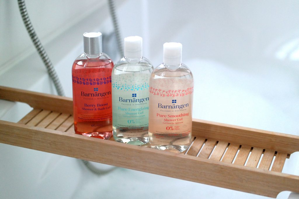Barnängen: Swedish beauty shower gels